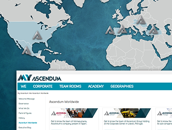 Create IT's Collaborative Solution approaches geographies and streamlines communication in Ascendum Group
