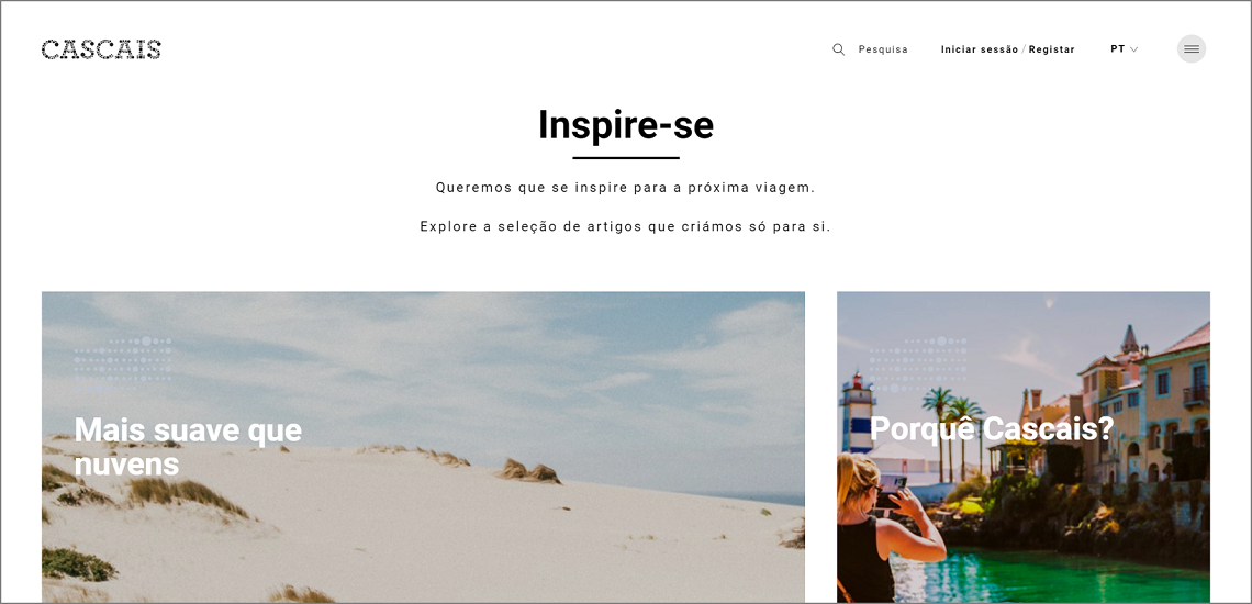 Create IT develops new portal for Cascais Tourism Association in partnership with creative agency NOSSA