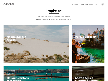 Create IT develops new portal for Cascais Tourism Association in partnership with creative agency NOSSA™