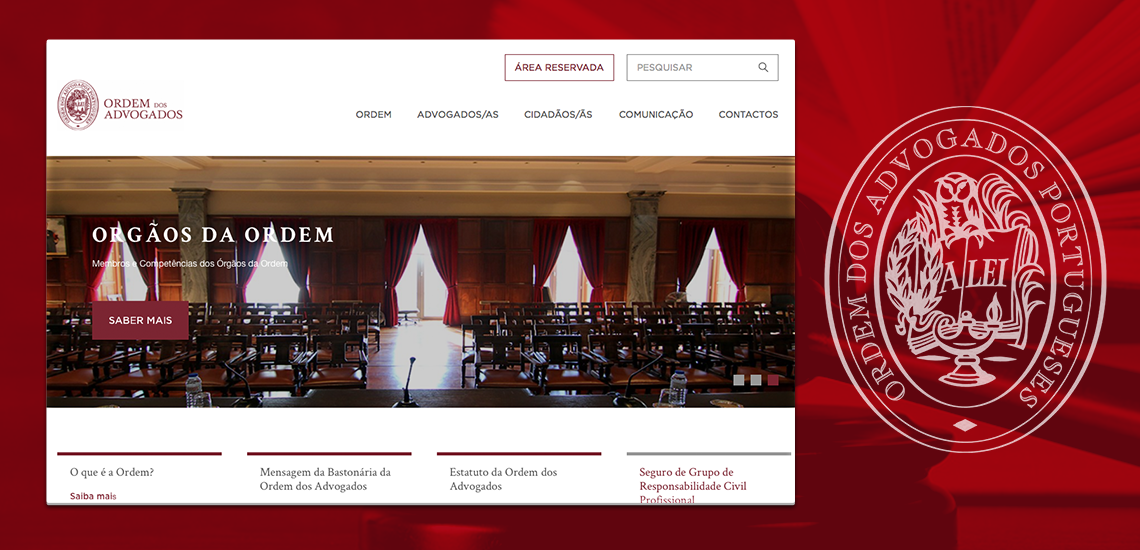 New portal of the Portuguese Bar Association