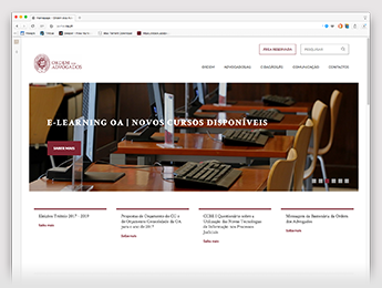 New portal of the Portuguese Bar Association powered by Create IT