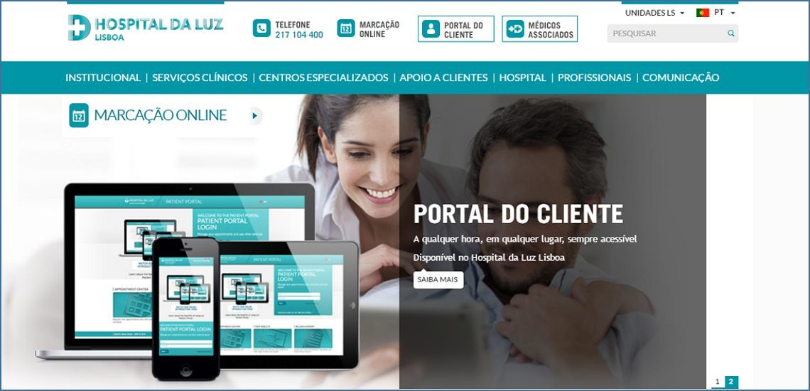 Luz Saúde launches Patient Portal powered by Create IT