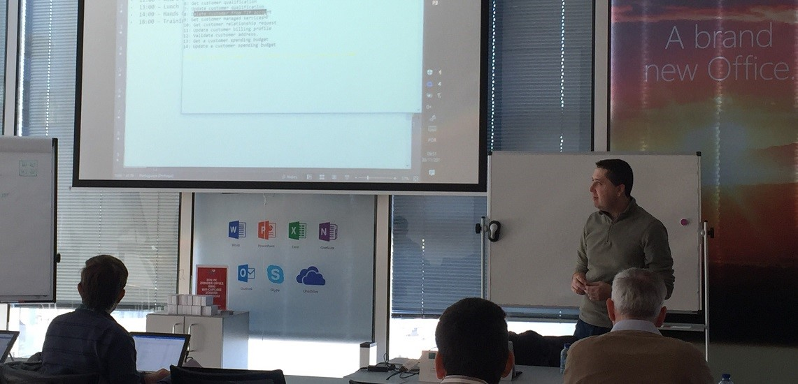 Create IT promove workshops na Bélgica para parceiros Cloud da Microsoft