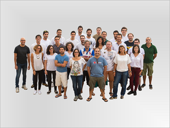 Create IT team on transparent background