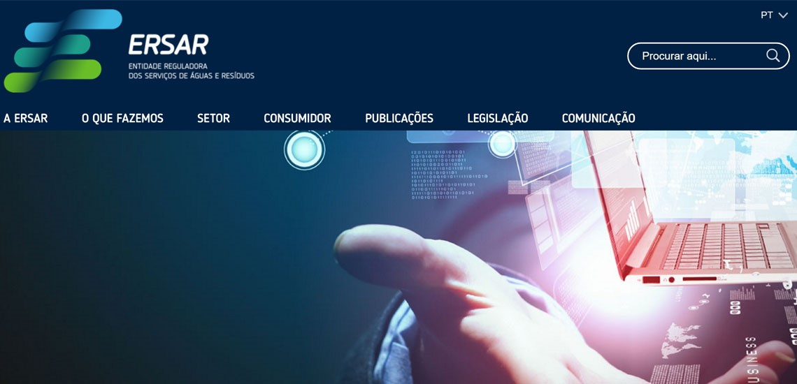 ERSAR launches new website powered by Create IT