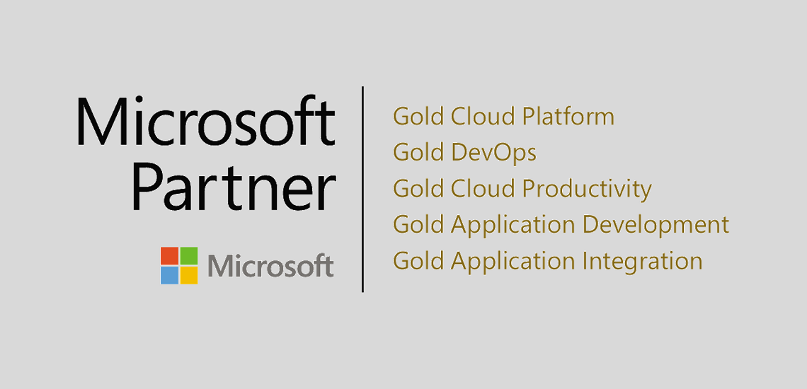 Create IT reaches Gold level on 5 Microsoft competencies