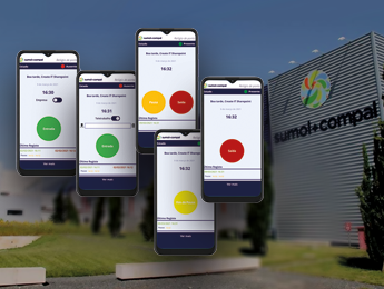 Create IT implements remote time clock solution at Sumol+Compal